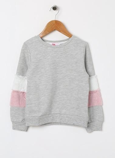 Pink&Orange Sweatshirt Gri